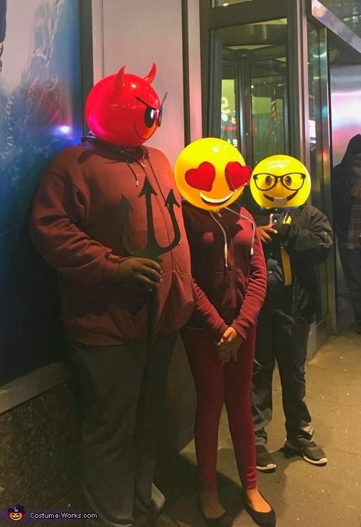We Are Emoji Costume