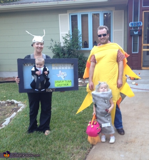 Weathercom Family Costume