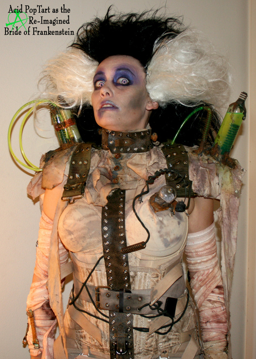 Re-Imagined Bride of Frankenstein - Homemade costumes for women