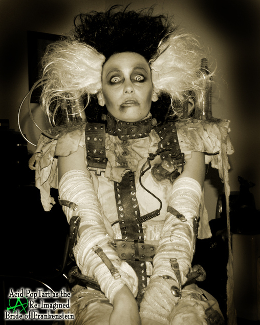 The Bride, Bride of Frankenstein Costume