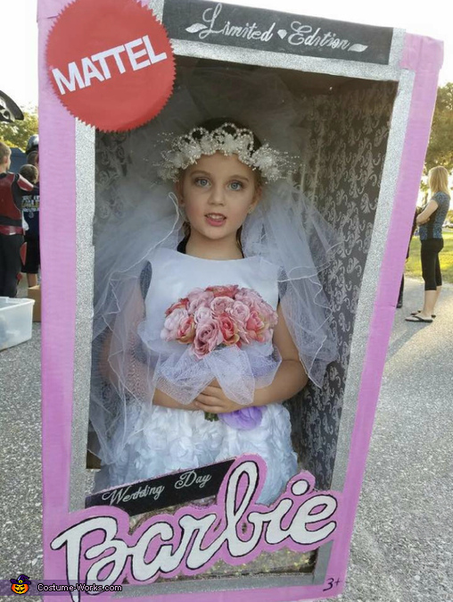 Wedding Day Barbie Costume