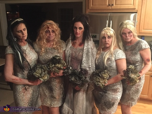 The bridal party, Wedding Massacre Costume