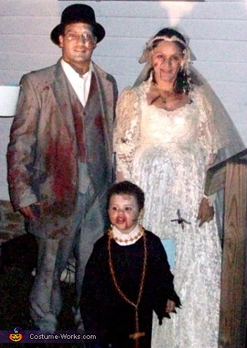 Zombie Wedding Family Costume