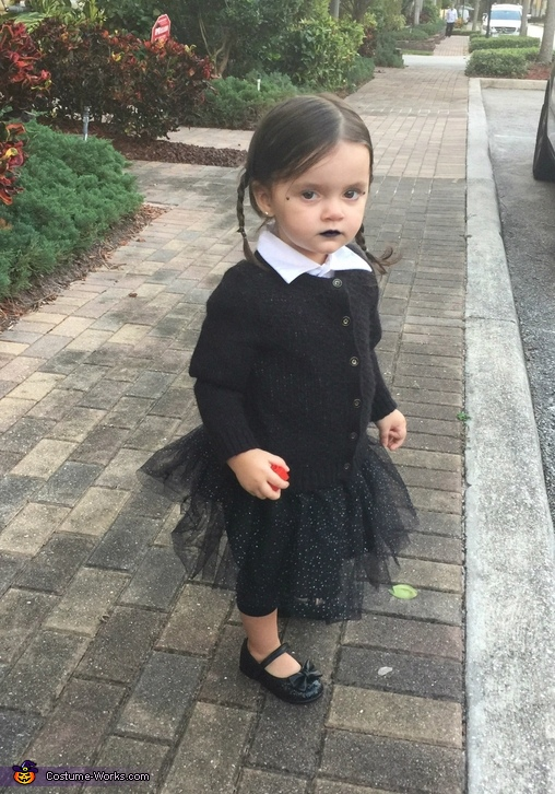 Cute Wednesday Addams Costume