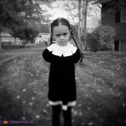 Wednesday Addams, Wednesday Addams Costume