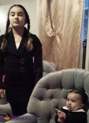 Wednesday and Gomez Addams Costume