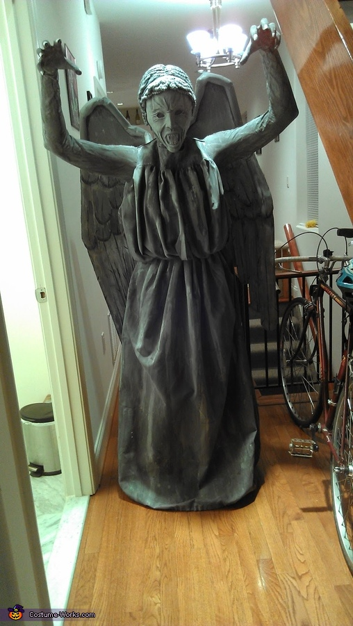 You Blinked!, Weeping Angel Costume