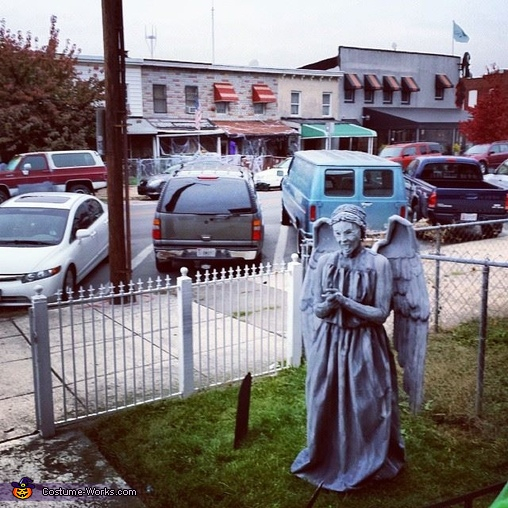 Weeping Angel Halloween Costume