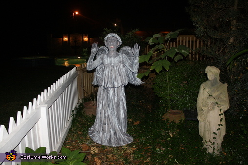 Don't blink!, Weeping Angel Costume