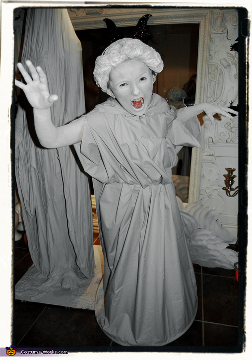 Scary Angel, Weeping Angel Girl Costume