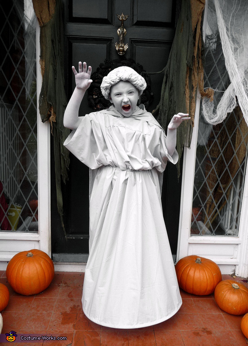 Weeping Angel Girl Costume