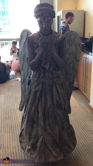 Weeping Angel front veiw, Weeping Angel Costume