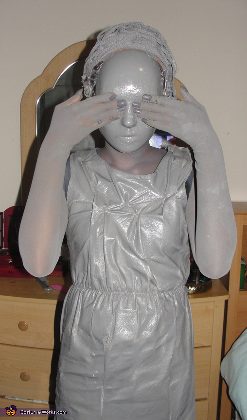 final costume, Weeping Angel Costume
