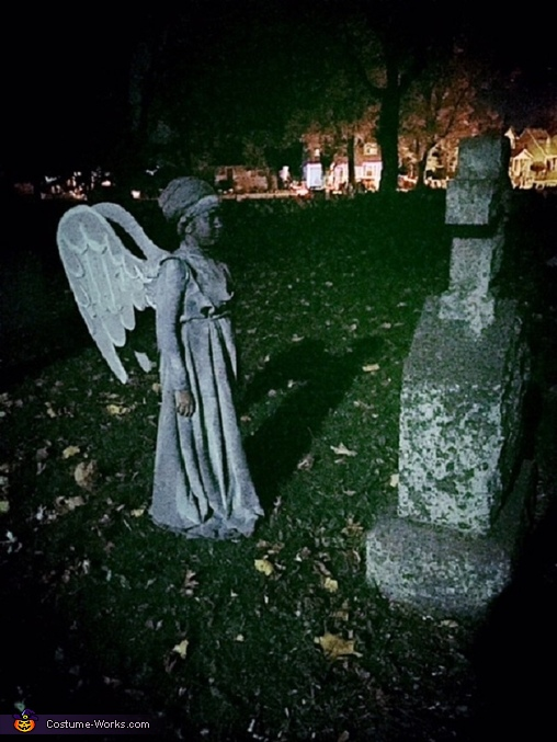 Weeping Angel-2, Weeping Angel Costume