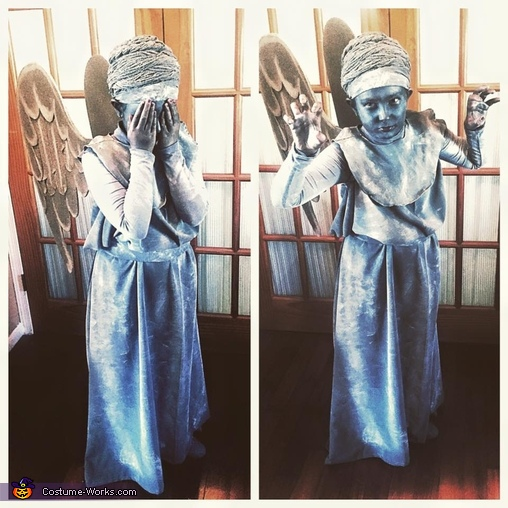 Weeping Angel-4, Weeping Angel Costume