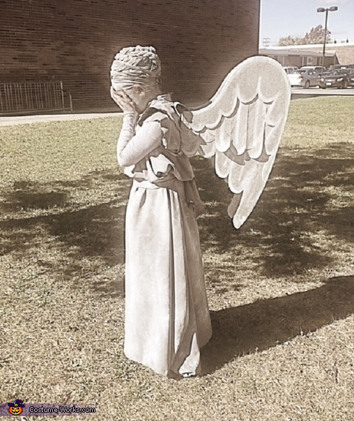 Weeping Angel-6, Weeping Angel Costume