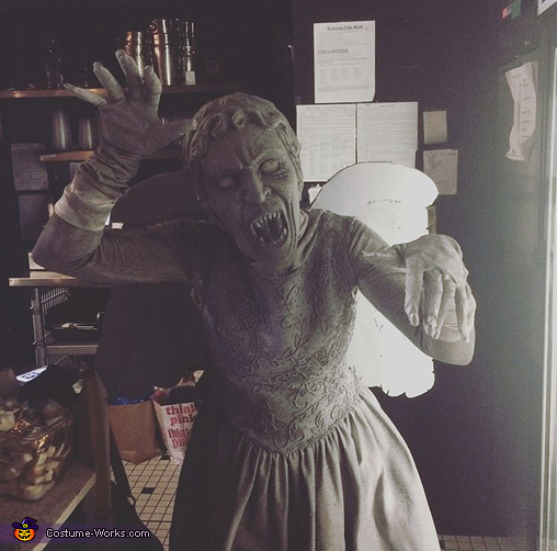 Who's scared!, Weeping Angel Costume