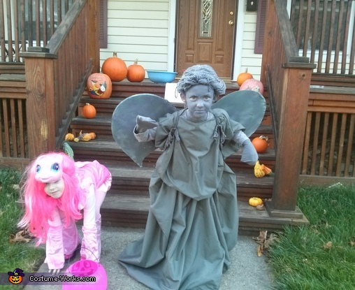 how to make a weeping angel halloween costume