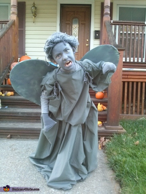 'Don't blink - don't even blink.  Blink and you're dead!' The Doctor, Weeping Angel Costume