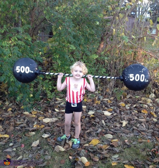 Weight Lifter Costume