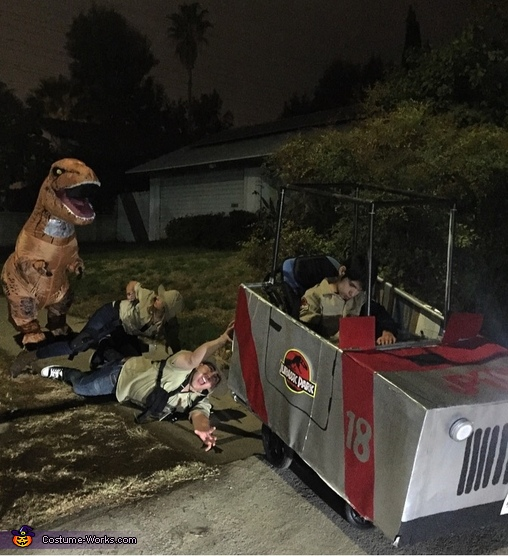 Welcome to Jurassic Park Costume