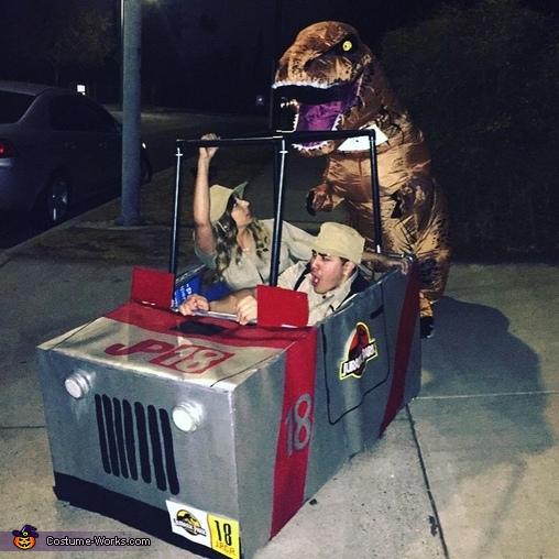 Jurassic Park Homemade Costume