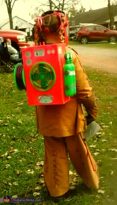 Welding Girl Homemade Costume