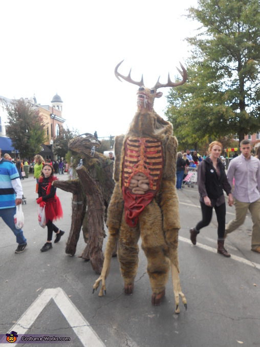 Full Body Shot, Wendigo Costume