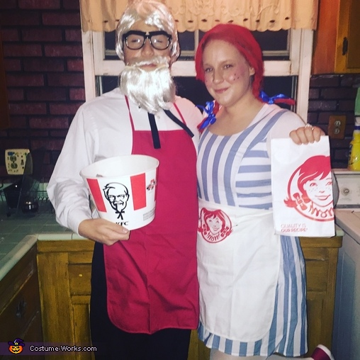 Wendy & Colonel Sanders Costume