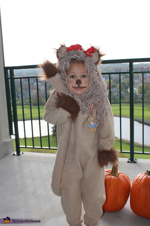 Cowardly Lion, We're off to see the Wizard Costume