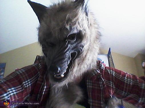 werewolf, Whoopie Cushion Costume