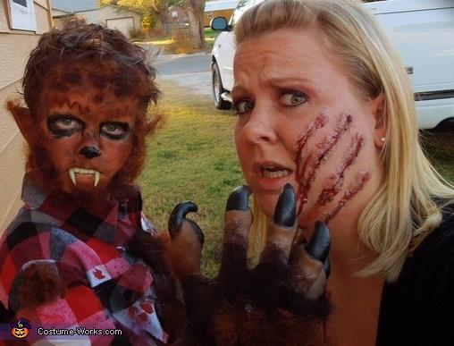 Werewolf Homemade Costume