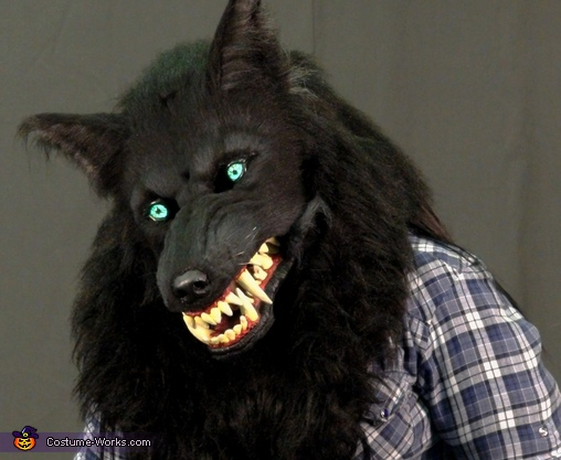 I'm ready for my close-up..., Werewolf Costume