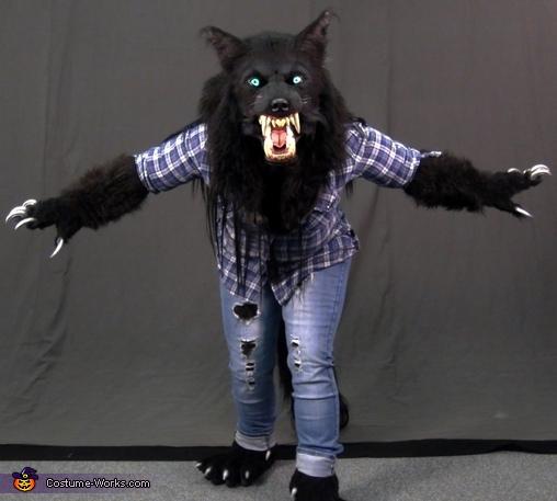 RRRRAAAWWWRRR!!!, Werewolf Costume