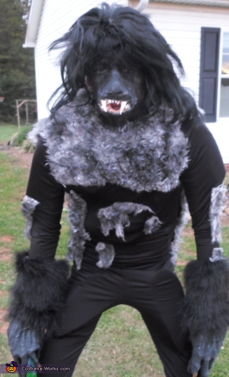 Werewolf - Homemade costumes for boys