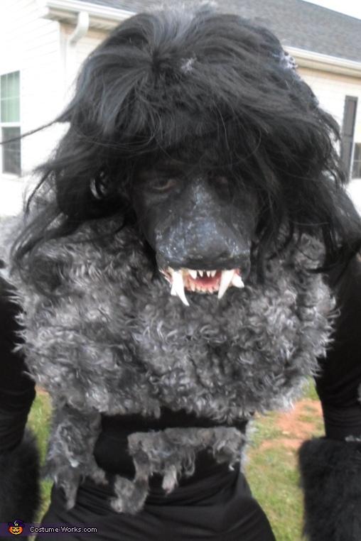upclose, Werewolf Costume