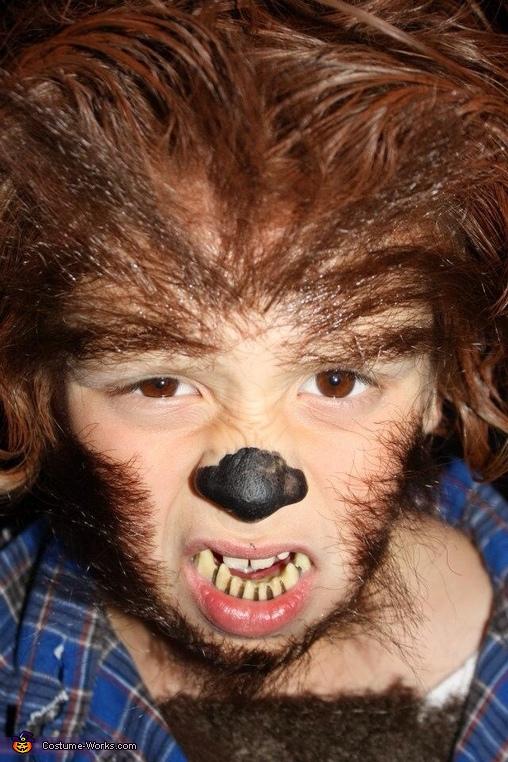 Werewolf Boy Homemade Costume