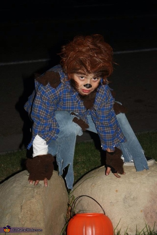 Werewolf Boy Costume