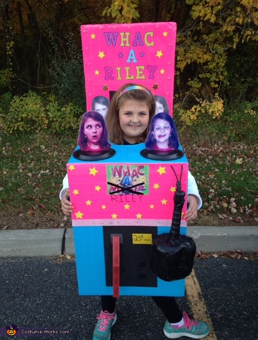 Whac-a-Riley Costume