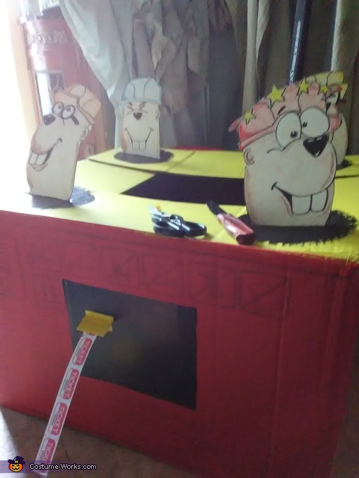 Whac-A-Mole Homemade Costume