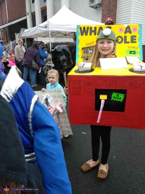 Whac-A-Mole Homemade Costume