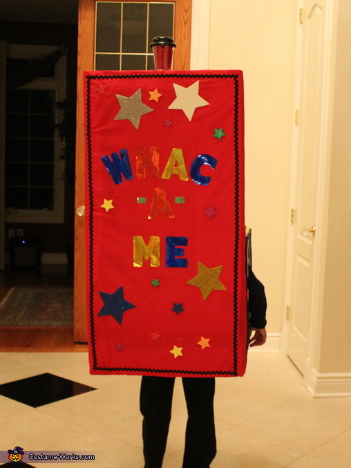 Whac -A- Me Homemade Costume