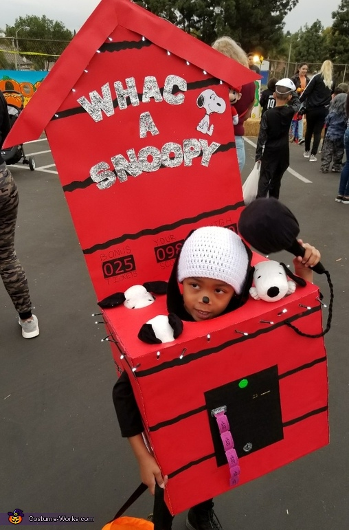 Whac a Snoopy Costume