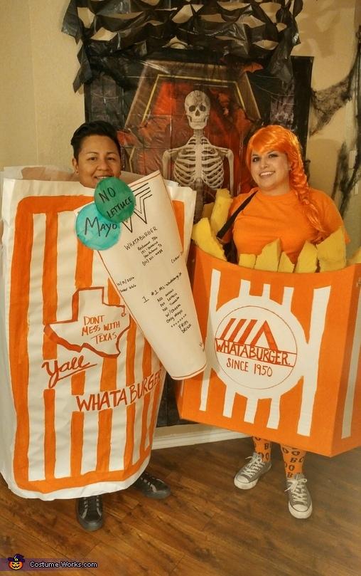 Whataburger Combo #1 Costume