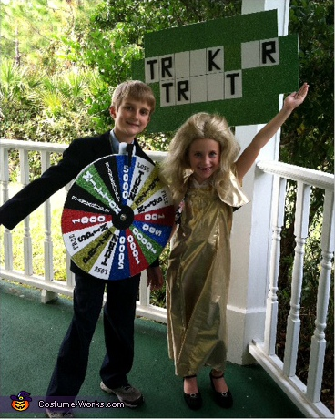 Wheel of Fortune! - Homemade costumes for kids