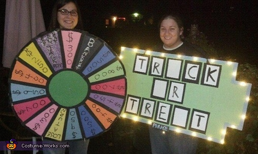 Wheel of Fortune Costume