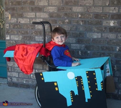 Wheelchair Superman Costume