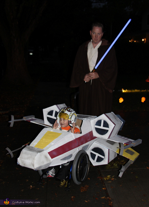Wheelchair X-wing Costume