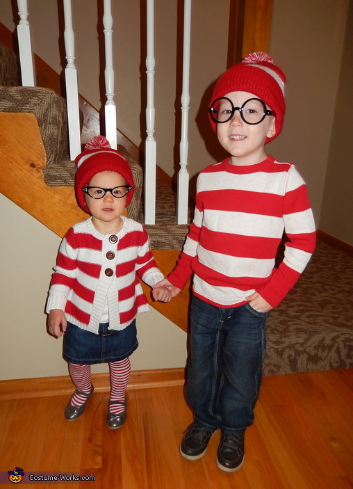 Where's Waldo and Wenda Costume