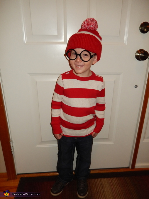 I found Waldo!, Where's Waldo and Wenda Costume